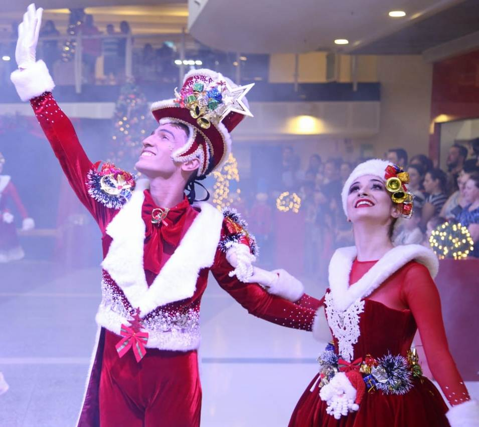 Maxi Shopping tem apresentações de corais e Show de Natal
