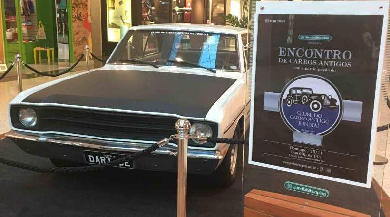 Encontro de Carros Antigos no JundiaíShopping