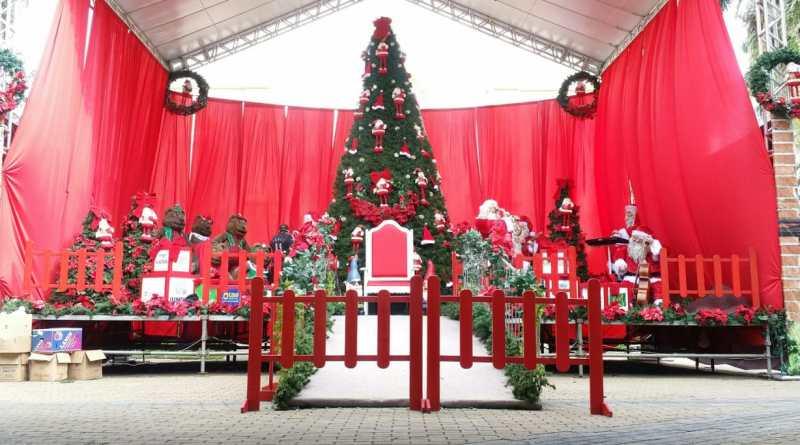 decoração do Natal Encantado