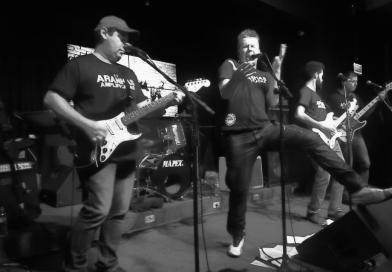 Os clássicos do rock nacional ganharão novas versões com a banda Glauco Chaves e as Aranhas Amplificadas nesta quarta-feira (26)