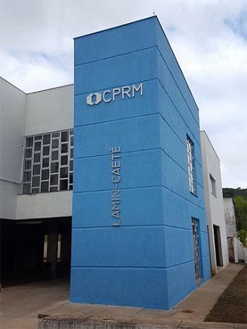 Foto do prédio do Lamin de Caeté