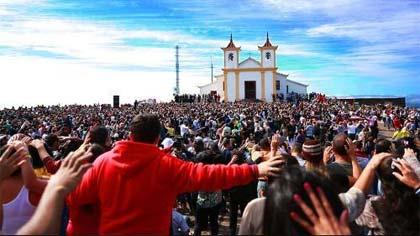 Foto da Basílica da Piedade.