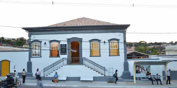 Foto do prédio restaurado