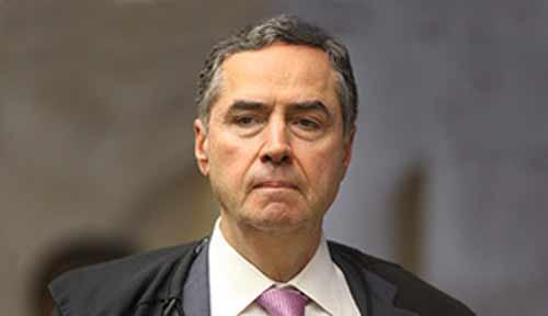 foto do ministro Luís Roberto Barroso