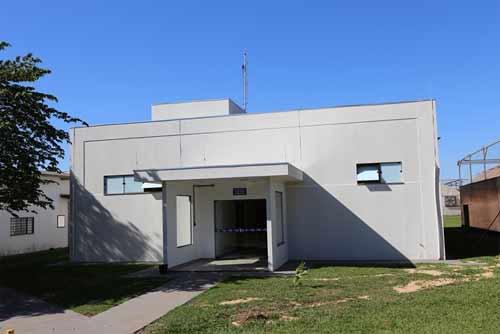 Foto do prédio construído na Embrapa Agropecuária Oeste (Dourados/MS)