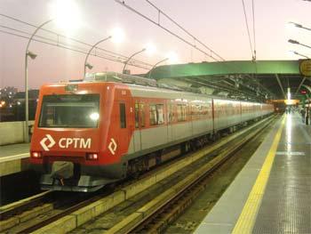 Foto ilustrativa de trem