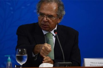 Foto do ministro Paulo Guedes