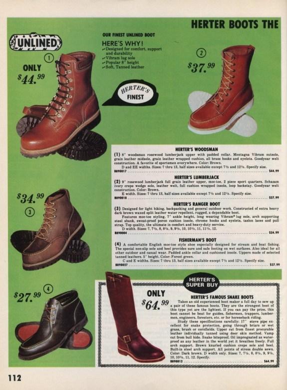 Herter's+Boots