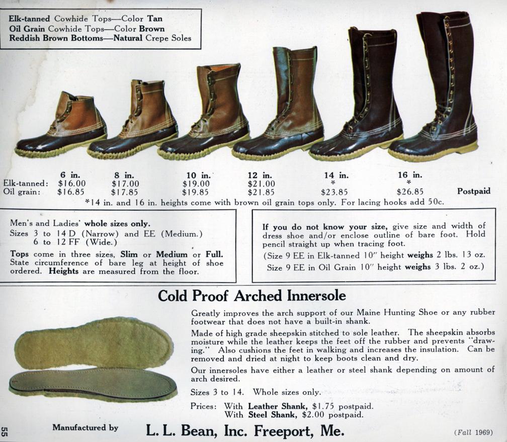 The Deer Hunter L L Bean C 1969 A Continuous Lean