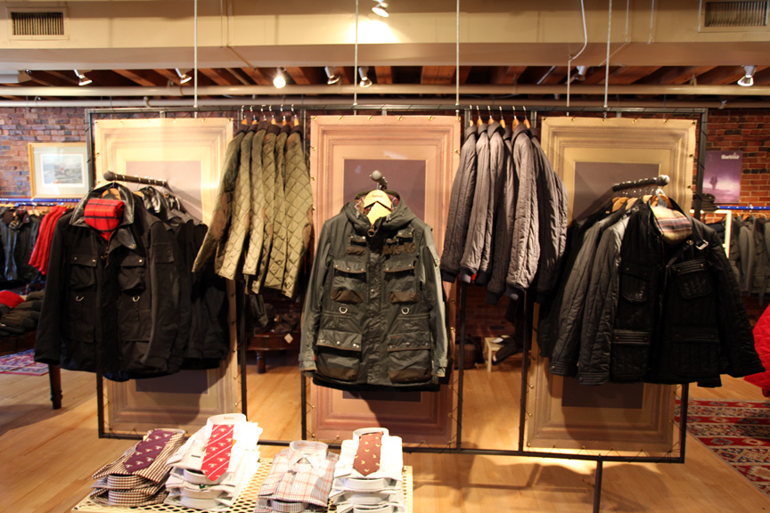 Barbour Outlet Shop