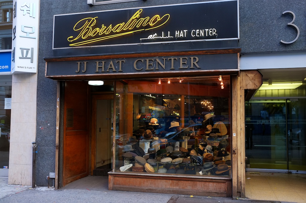A few Saturdays ago my friend Randy Goldberg and I stopped into JJ Hat  Center 245363a8a208