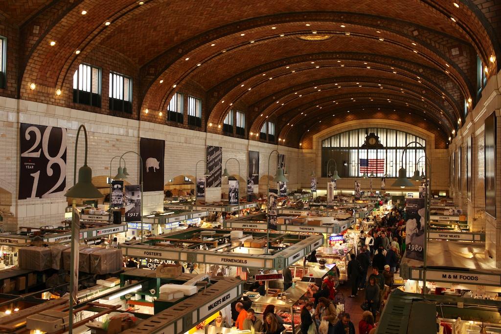 Shopping Cleveland | West Side Market | A Continuous Lean.