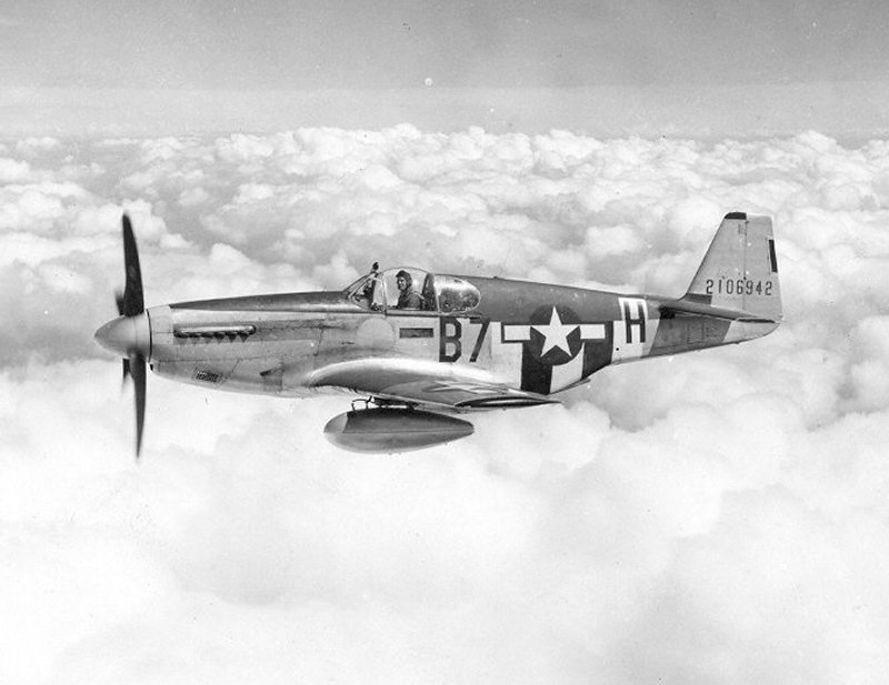 You Can Bid On This Rusty P51 Mustang For The Price Of A