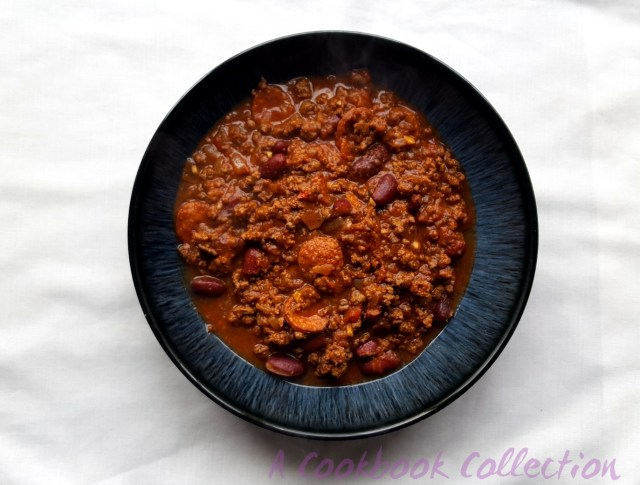 Beef Chilli- A Cookbook Collection