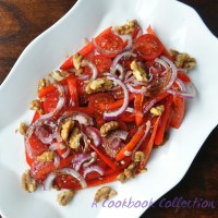 Tomato Salad with Pomegranate Molasses