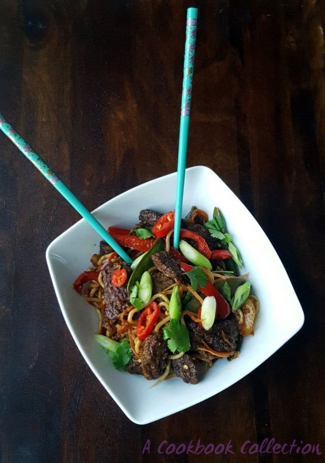 Beef Orange Chilli Stir Fry - A Cookbook Collection