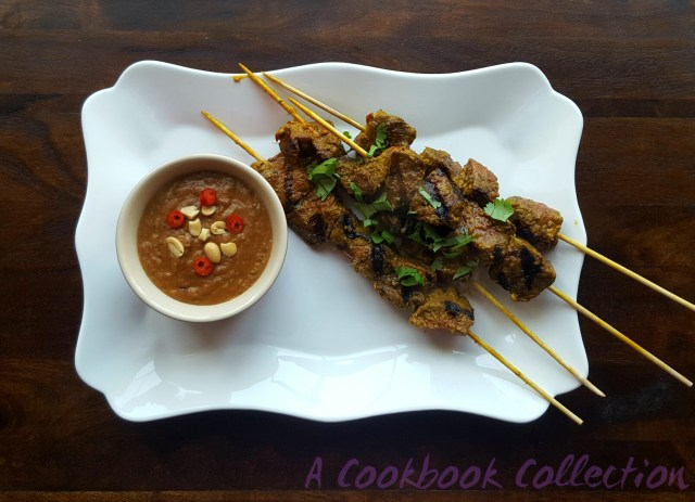 Beef Satay Skewers - A Cookbook Collection