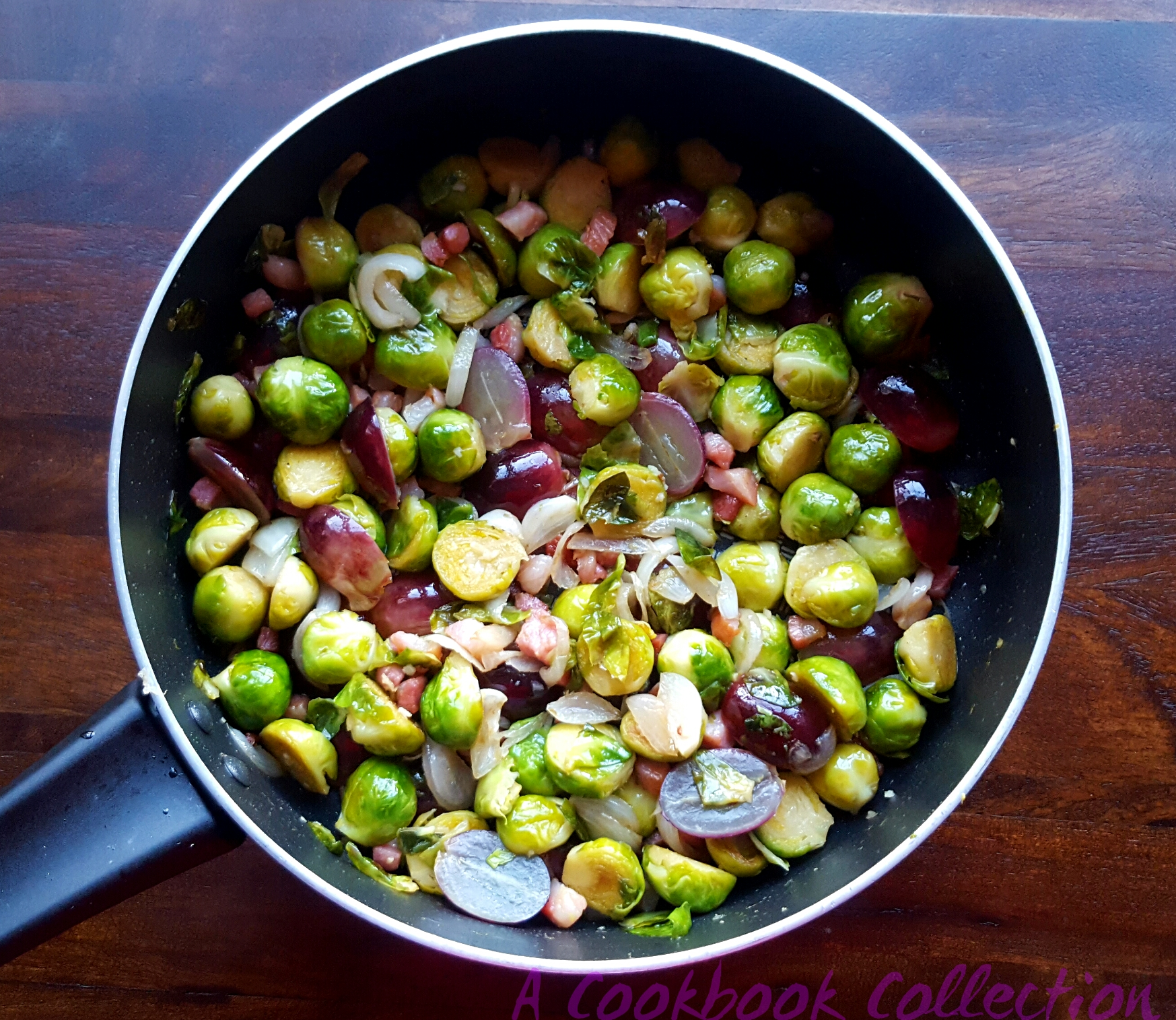 brussels-sprouts-with-pancetta-and-grapes-a-cookbook-collection