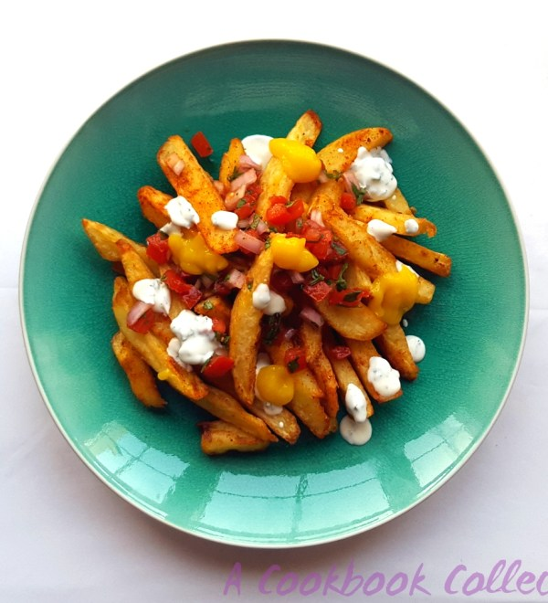 Masala Fries Mango Salsa Raita -A Cookbook Collection