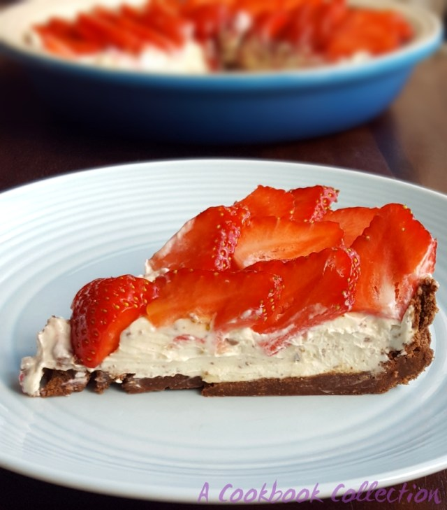 Chocolate and Strawberry Tart- A Cookbook Collection