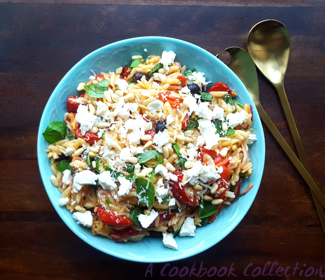 Mediterranean Pasta Salad -A Cookbook Collection