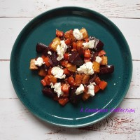 Roast Root Vegetable Salad with Goats' Cheese
