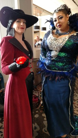 Two Evil Queens walk into a convention...