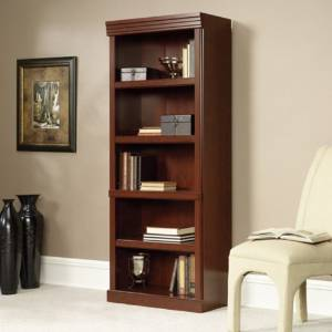10. The Saunder Heritage Hill Cherry Bookcase