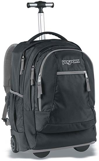 9. JanSport Driver 8 Core Series Wheeled Backpack
