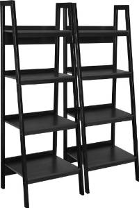 2. The Altra Metal Frame Ladder Style Bookcase