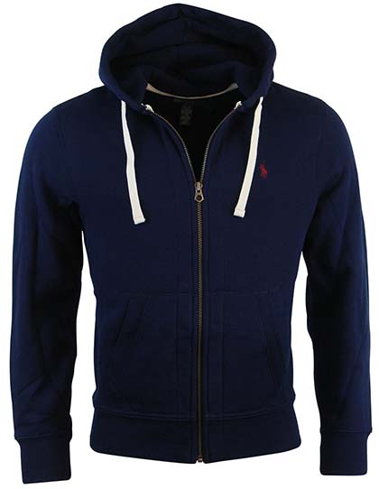 5. Polo Ralph Lauren Classic Full-Zip Fleece Hooded Sweatshirt
