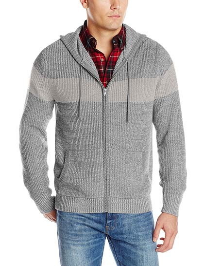 2. Alex Stevens Men's Chest Stripe Hoodie