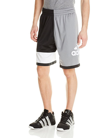 5. Adidas Performance Men's Crazy Fresh 2.0 Shorts