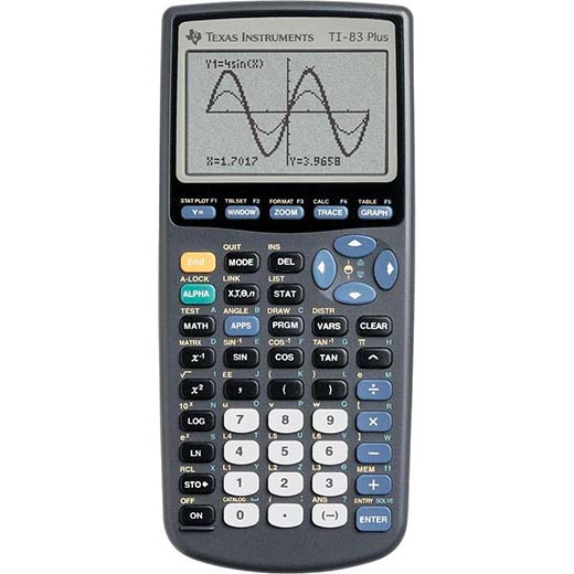 5. The next calculator on our top ten lists is the TI-83