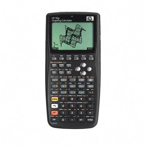 2. The next kind of graphing calculator on the list and the HP-50.