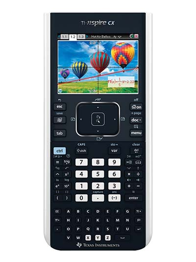 4. The next on our list of the top ten graphing calculator is the TI-Nspire