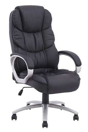 3. High Back Executive PU Leather Ergonomic Computer Chair