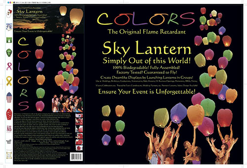 8. The Original Color Sky Lanterns
