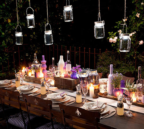 5. Consol Solar Jar - Solar-powered LED Lantern & Table Light