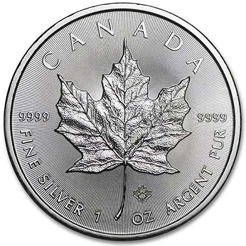 6. 2015 Canadian Silver Maple Leaf $5