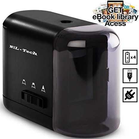 5. Nil-Tech electric pencil sharpener.