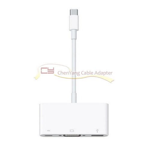 3.The New MacBook USB 3.1 VGA Multiport Adapter
