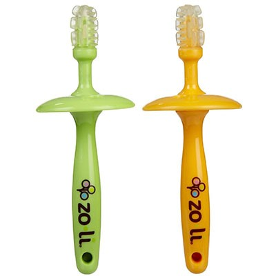 2. Zo-li Gummy Stick Baby Gum Massagers