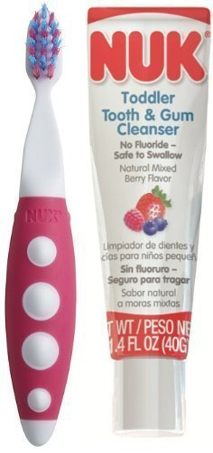 10. NUK Toddler Tooth and Gum Cleanser