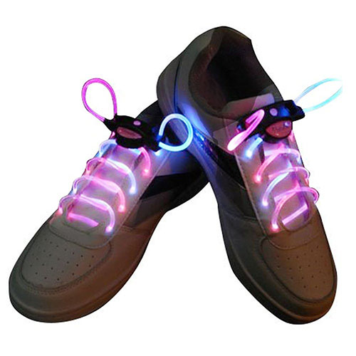 10. LED Light up Waterproof Shoelaces