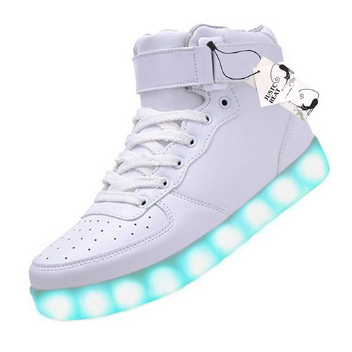 1. Top USB Charging LED Shoes