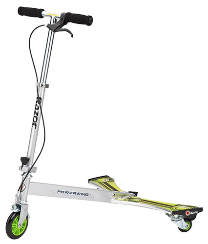 10. Razor PowerWing Caster Scooter