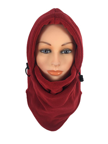 10. Fleece Balaclava Hooded Face Mask