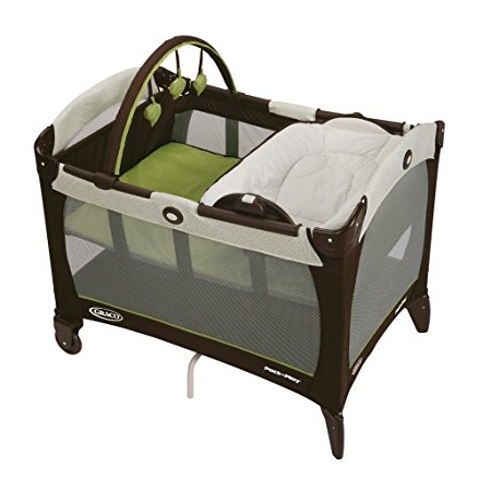 4. Graco Pack 'n Play Playard with Reversible Napper and Changer, Go Green