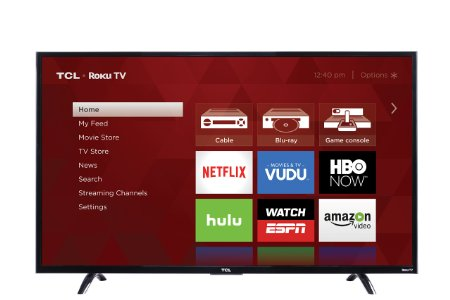 7. TCL 55UP130 55-Inch 4K Ultra HD Roku Smart LED TV